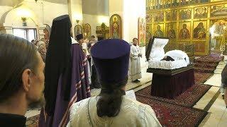 отпевание Николая Булакина в Градо-абаканском храме Константина и Елены - Абакан 24