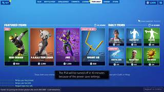 Fortnite Live Item Shop Countdown Live 6 Sept 2019// Earn Coins To get Gift ! Fortnite Battle Royale