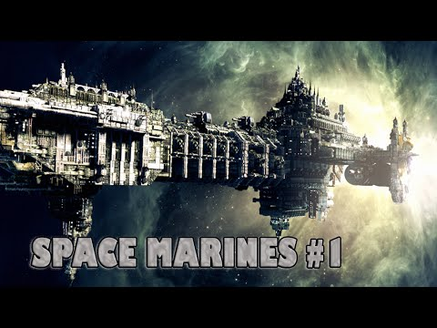 Battlefleet Gothic: Armada - Space Marines Fleet Gameplay #1