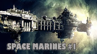 Battlefleet Gothic: Armada - Space Marines Fleet Gameplay #1