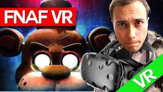 Max in FNAF VR ! (HTC VIVE) SPECIAL!