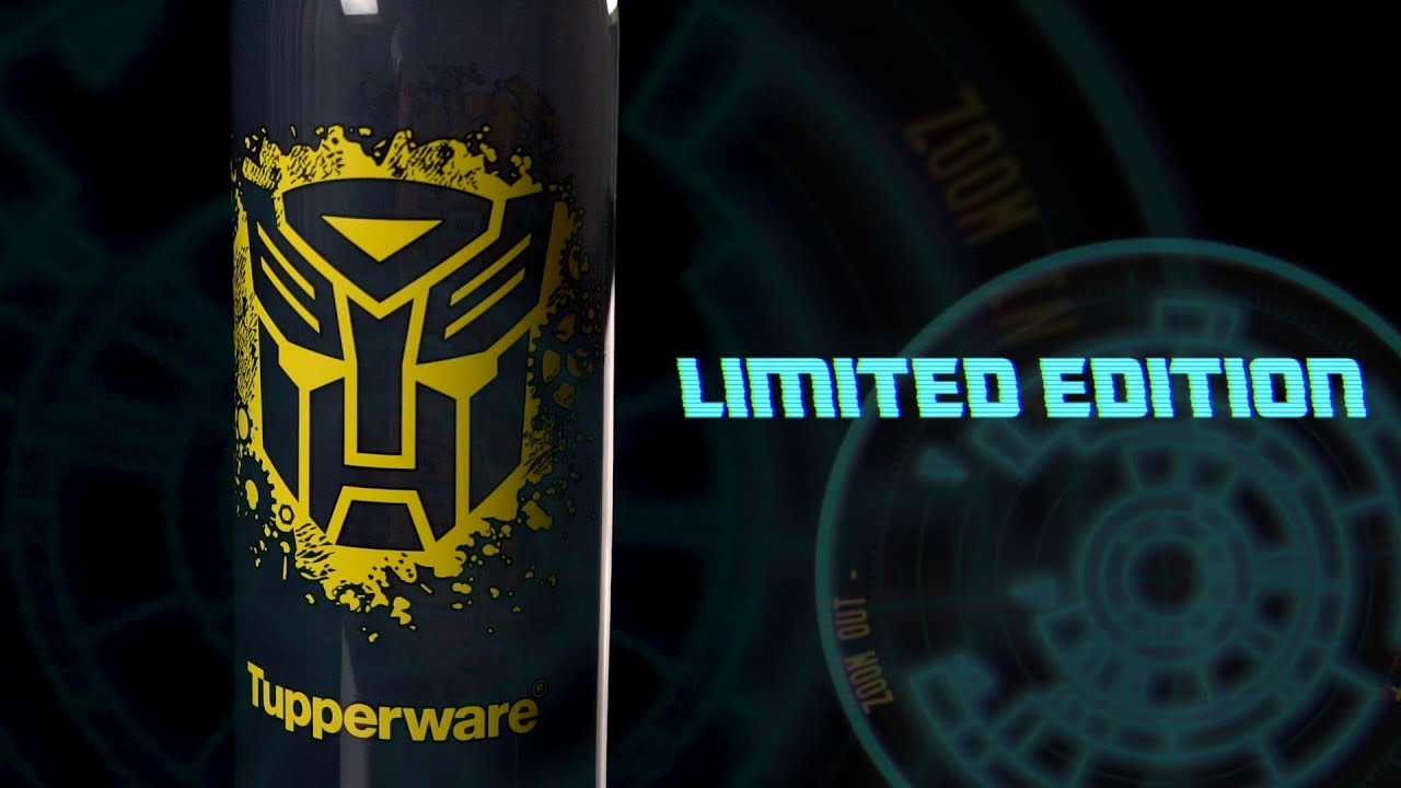 Limited Edition Transformer Eco Bottle Set From Tupperware Youtube Sweet Blossom