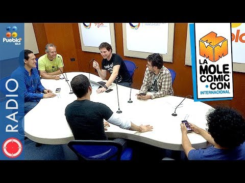 La Mole Comic Con Internacional noviembre 2017| ONE-SHOT COMICS RADIO | 10.11.2017