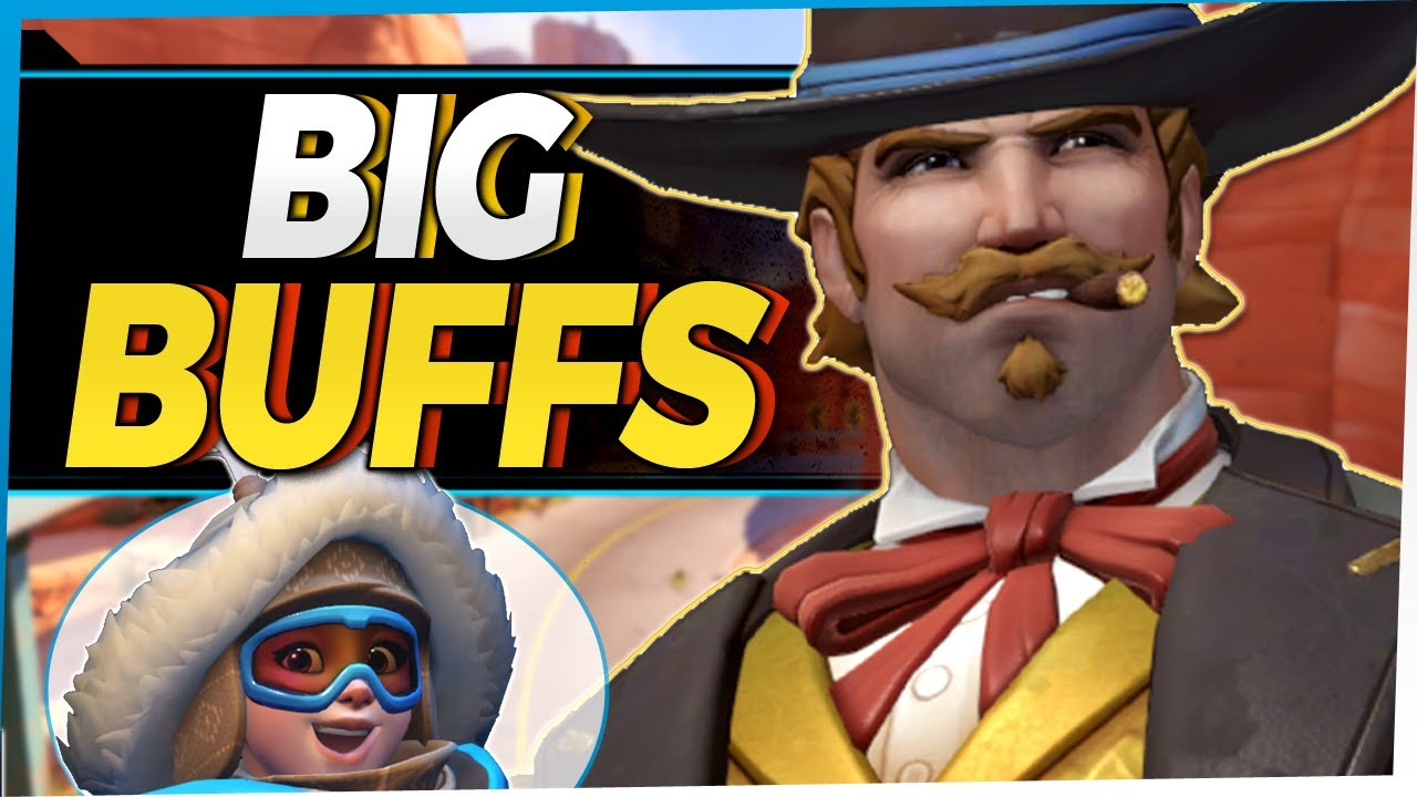 Overwatch Big Buffs - McCree Mei and More!