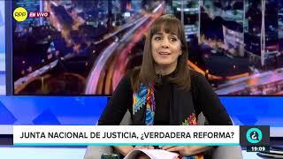 """""""La velocidad de este proceso (Junta Nacional de Justicia) la ha impuesto el tamaño de la crisis"""""""