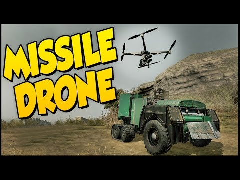 Crossout ➤ Missile Drone Build! Homing Missiles OP [Crossout Gameplay]