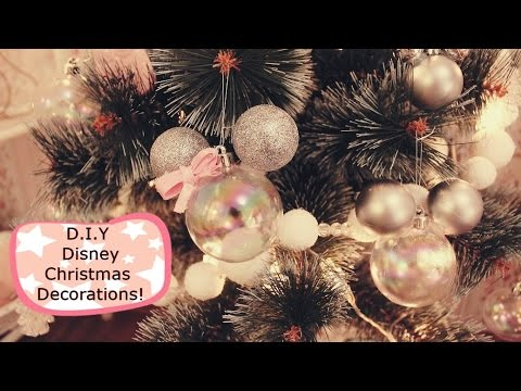super easy diy disney mickey mouse christmas decorations - Mouse Decorations Christmas