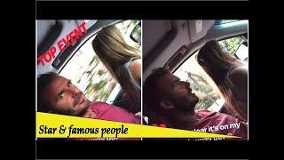 Top Event - David Beckham films daughter Harper, six, driving his car with no seat belt