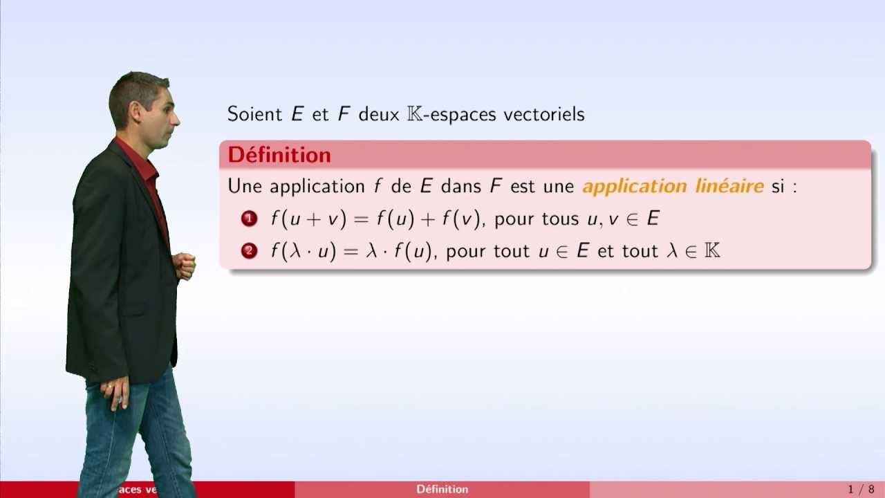 application lineaire