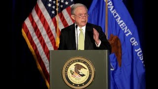 Attorney General Jeff Sessions speaks at DOJ Hate Crimes Summit Free HD Video