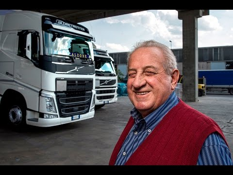Volvo Trucks - Lower fuel costs without loss of performance - Meet our customer: Sartori Trasporti