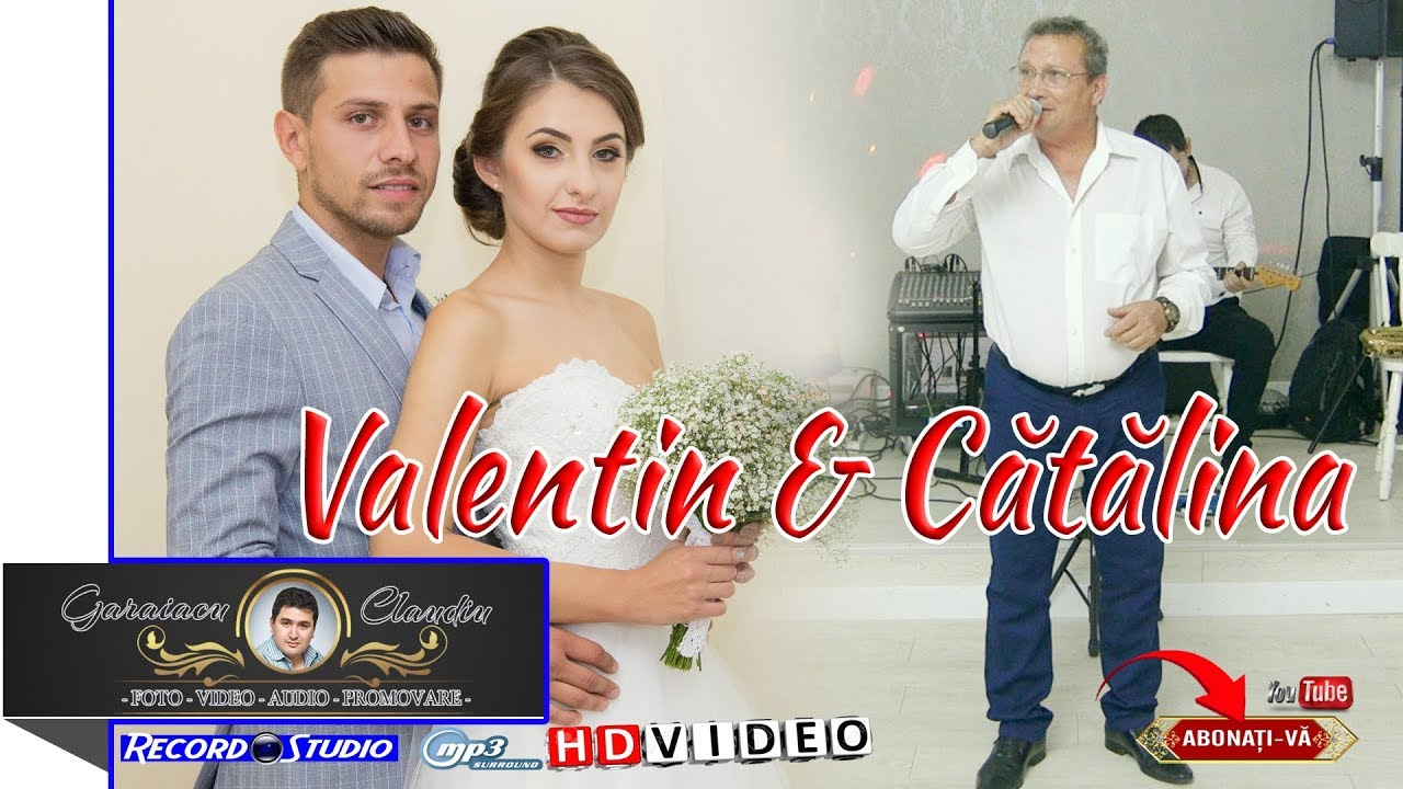 Nunta Valentin Catalina Muzica De Ascultare Un Costum Si O