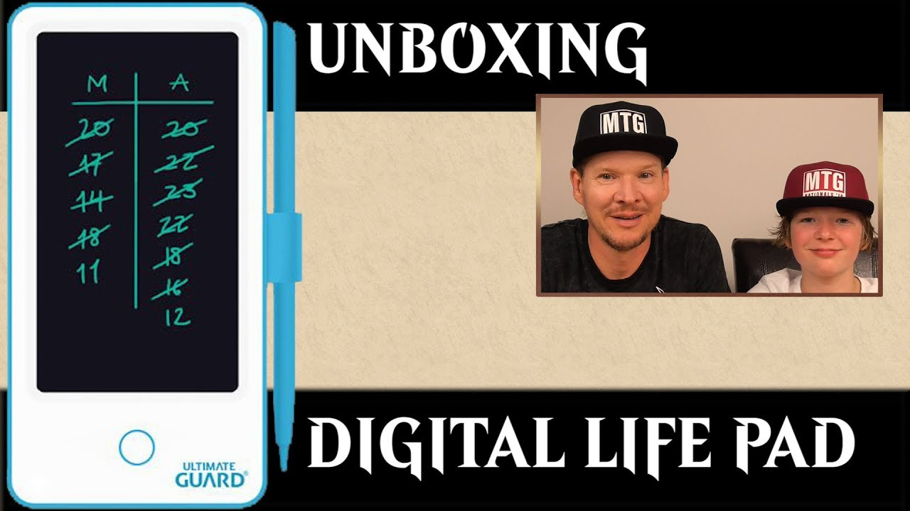 Ultimate Guard Digital Life Points Score Pad