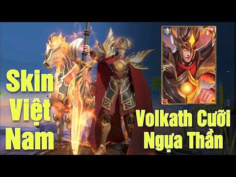 [Gcaothu] Volkath Thánh Gióng cưỡi ngựa thần quét sạch Giang Sơn - Skin VN đầy tự hào
