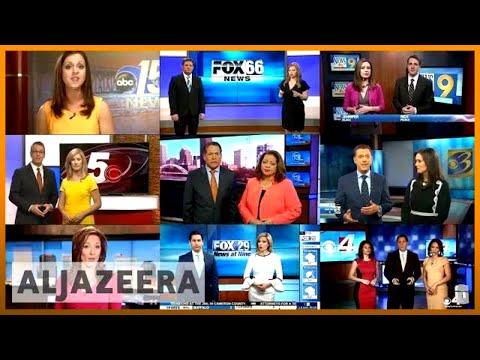 🇺🇸 Pro-Trump TV network under fire for 'fake news' script   Al Jazeera English