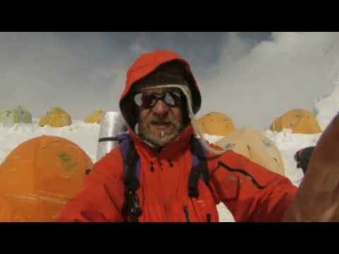 Even cancer didn't stop this man climbing Everest