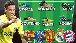 Unreal Football Lineups! Which Team Has The Best Boots?