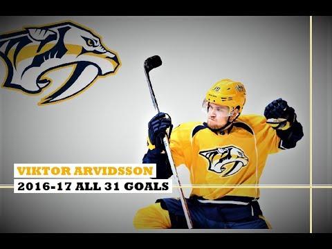 Viktor Arvidsson (#38) ● ALL 31 Goals 2016-17 Season (HD)