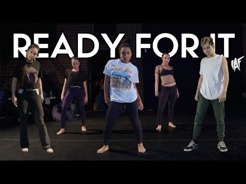 Ready For It ft Charlize Glass - Taylor Swift | Brian Friedman Choreography | IAF Compound