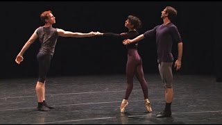 Song of the Earth in rehearsal (The Royal Ballet)