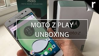 Moto Z Play Unboxing & Hands-on Review: Mods on the cheap