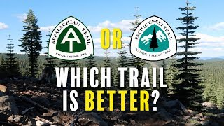 AT or PCT - Which Trail is Better?