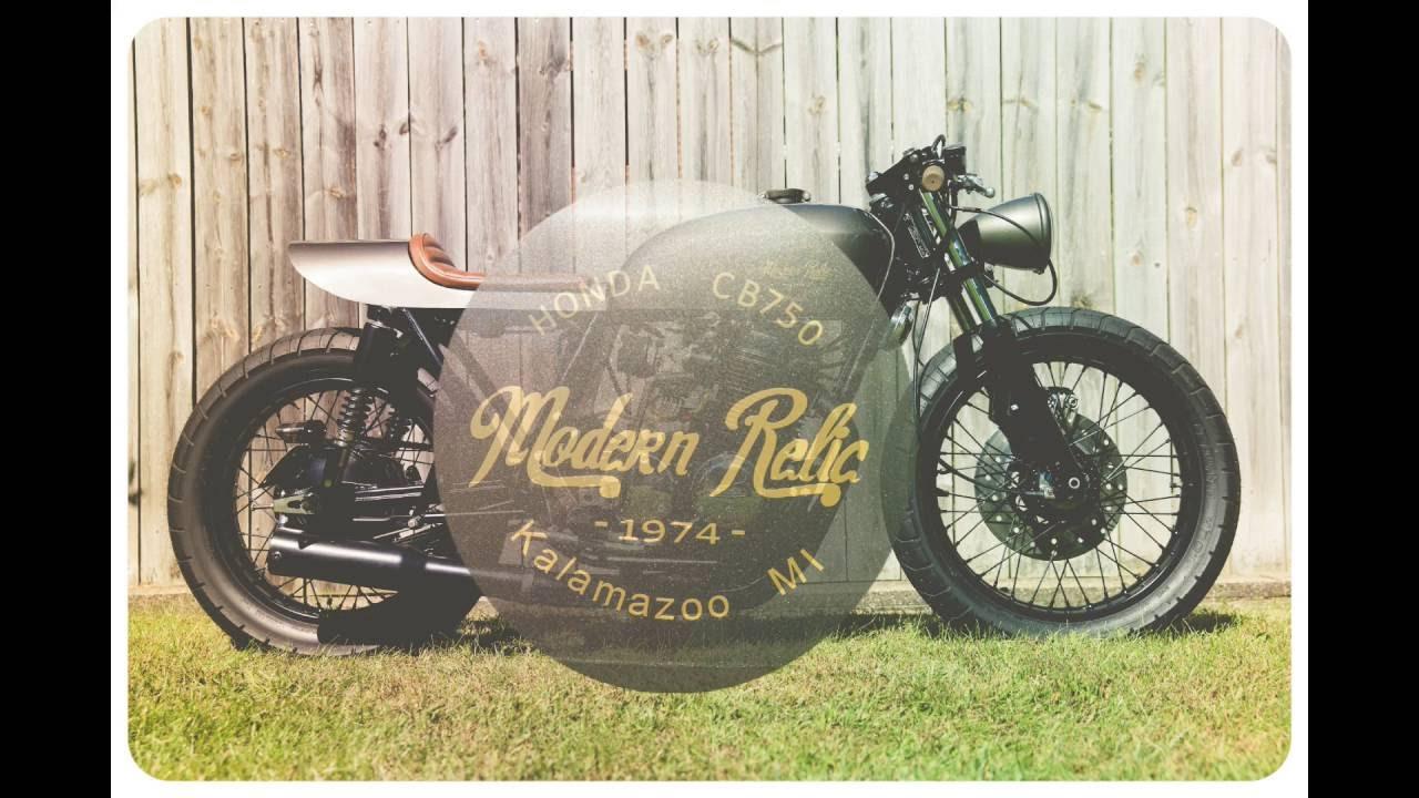 1974 Honda CB750 Custom Cafe Racer Build Modern Relic