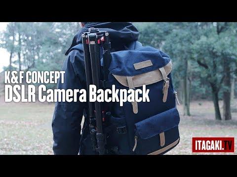 低価格でカジュアルなカメラバックのレビュー|K&F Concept DSLR/SLR Camera Backpack