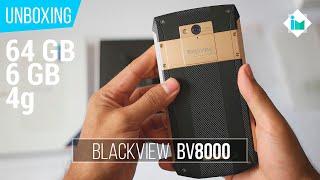 Blackview BV8000 Pro - Unboxing en español