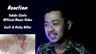 REACTION Lesti & Rizky Billar - Takdir Cinta | Official Music Video | MV Reaction