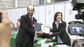 WIPO Medals at Geneva Inventions Fair 2012