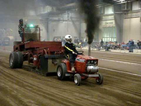 Diesel Garden Tractor Pull kemmerer YouTube