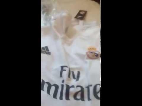 Видео отзыв футболка Реал Мадрид 15 16