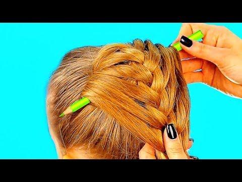 Coiffures pour enfants vidГ©o sur cheveux moyens