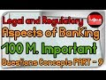 Jaiib Legal Banking Important Sections, Concepts, BR act, sarfaesi act, RTI, NI act Questions