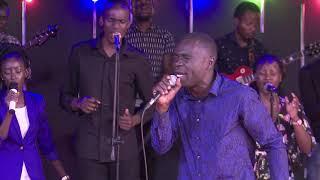 AP. Jonathan Babara  unveils New song Gwe Kyaama live at the Worship Booth