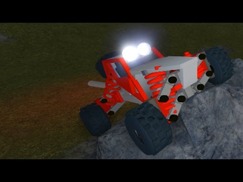 New ROBLOX Vehicle Suspension Demonstration
