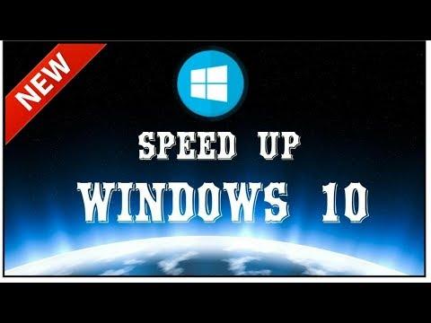 Speed up window 10 performance