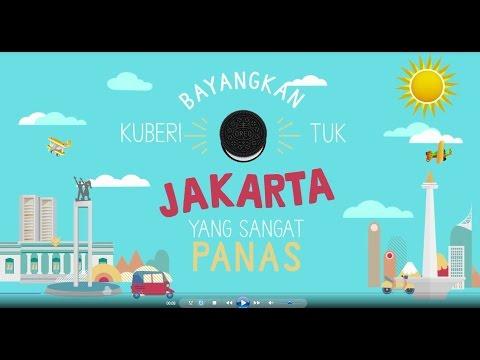 Bayangkan jika kuberi Oreo untuk Jakarta