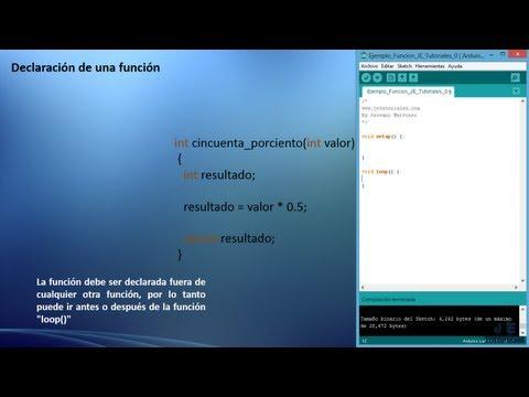 Uso De Funciones En Arduino - Tutorial
