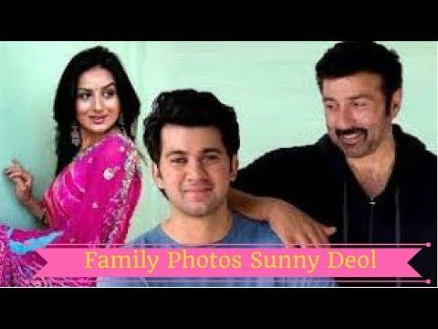 Sunny Deol Family With Wife Pooja Deol,Sons Karan Deol and Rajvir Deol