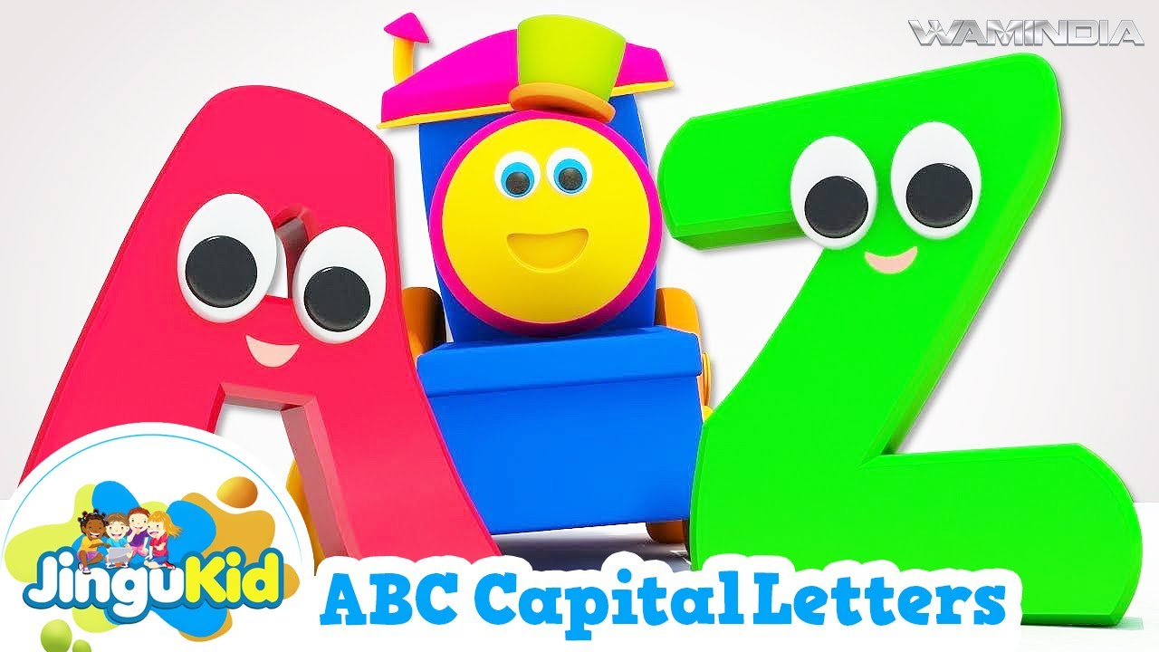 Worksheet Letters Kindergarten abcd capital letters hd learn cursive writing kindergarten series youtube