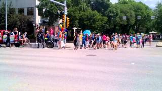 Gay Pride Parade - Regina Saskatchewan - June 22, 2013