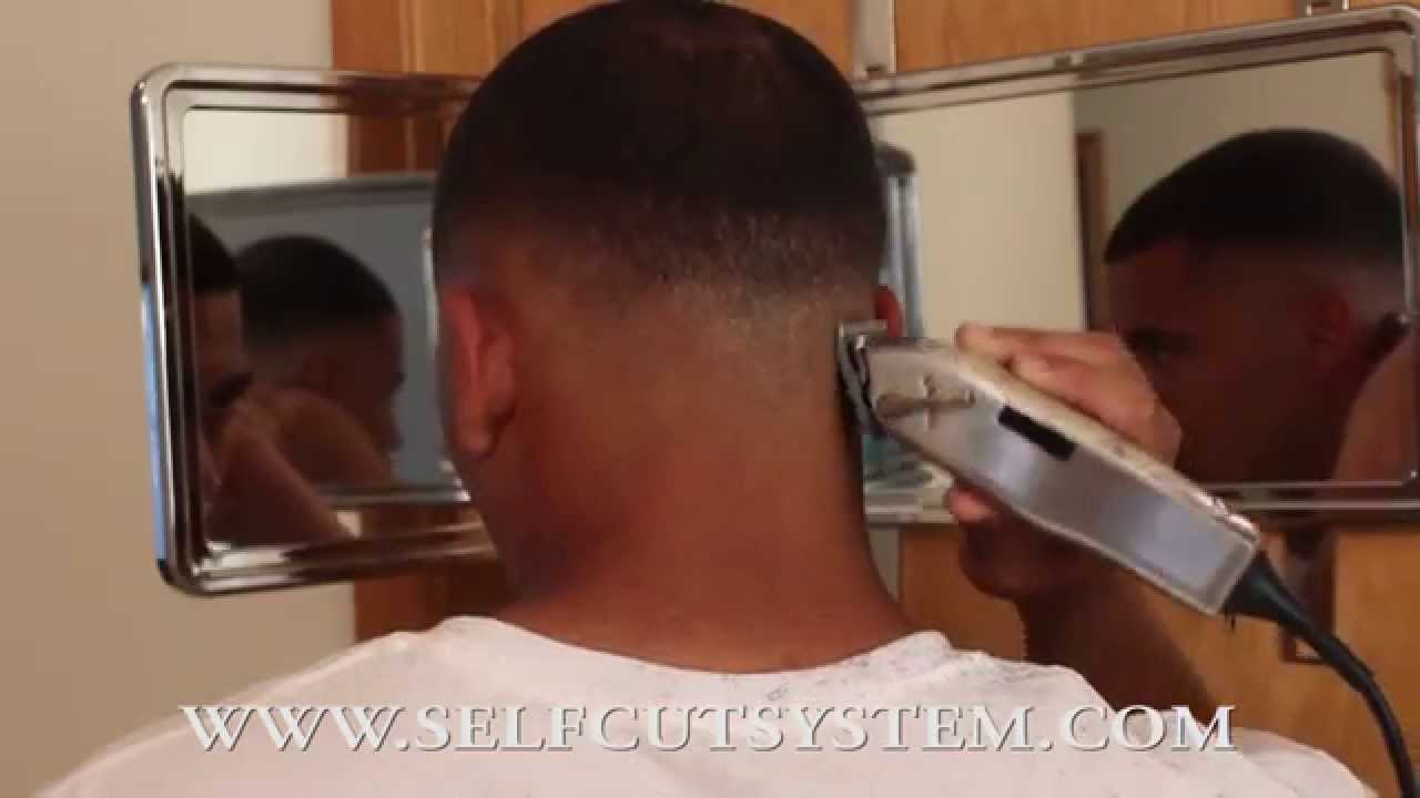 Bald Fade Self Cut Step By
