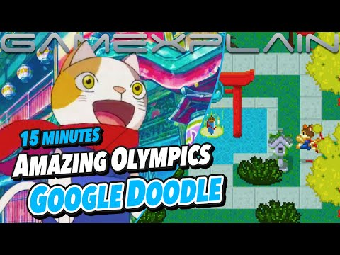 Wow! The Google Doodle for the Tokyo 2020 Olympics Is an Entire Adventure Game...and It's Awesome! |