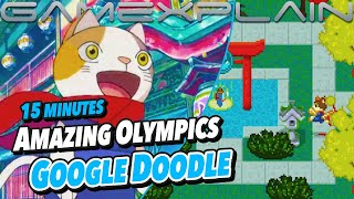 Wow! The Google Doodle for the Tokyo 2020 Olympics Is an Entire Adventure Game...and It's Awesome!