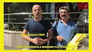 POSTACI OLDUK MAHALLE MAHALLE GEZDİK..