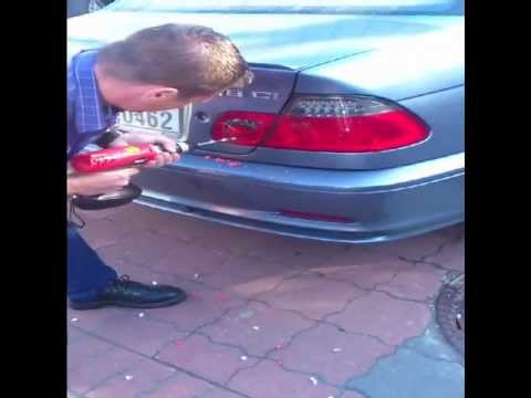 Bmw 318 E46 Key Locked In The Boot Trunk Youtube