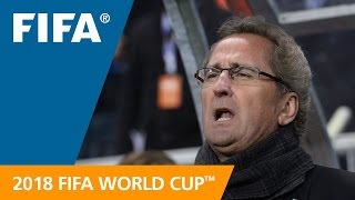 Erik Hamren (Sweden) REACTION: World Cup Preliminary Draw