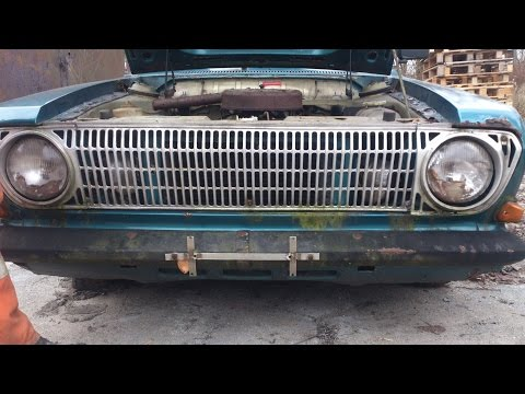 Ford Taunus 12M P6 1.2 V4 start engine